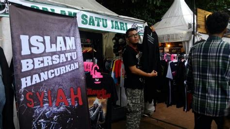 Produk Ukm Kaos Allahu Akbar ada kanye anti syiah di jakcloth 2015 voa islam
