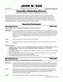 Director Resume Sample Sample Marketing Manager Resume Best Resume Sample