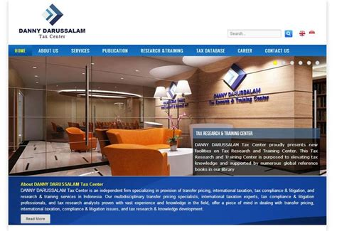 web design agency jakarta danny darussalam tax center indonesia web design agency