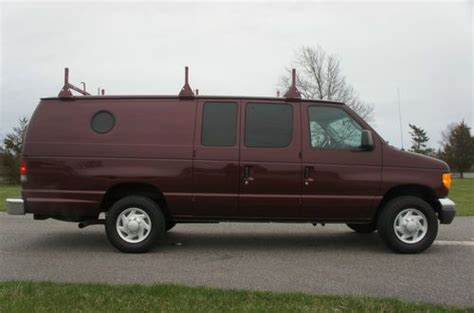 how to sell used cars 2005 ford e250 parking system purchase used 2005 ford e350 econoline extended cargo van for sale ac racks salvage title in