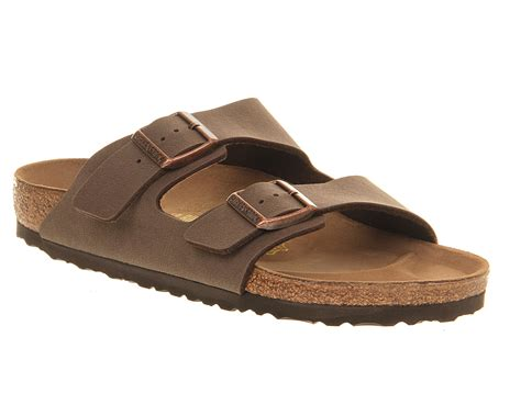 brown two sandals birkenstock arizona two sandals in brown for