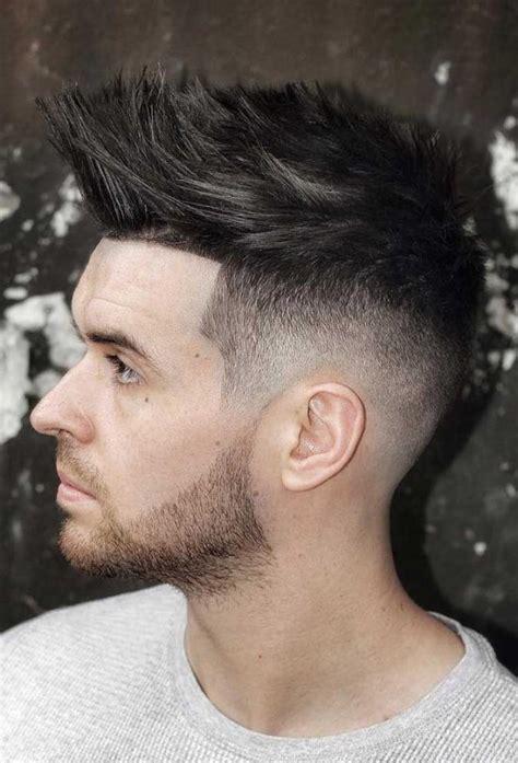 styling spiky hair boy 24 uniwersalne fryzury męskie dla okrągłej twarzy