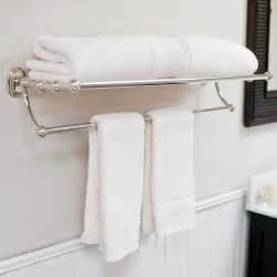 water creation vintage classic bath towel rack towel