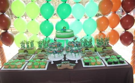 A Bodacious Teenage Mutant Ninja Turtles Birthday