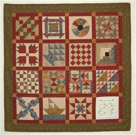 Quilts Underground Railroad by Treadle Quilts Underground Railroad Miniature Quilt