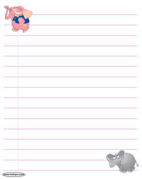 printable paper elephants printable elephants writing paper