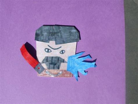 Origami Count Dooku - count foldu origami yoda