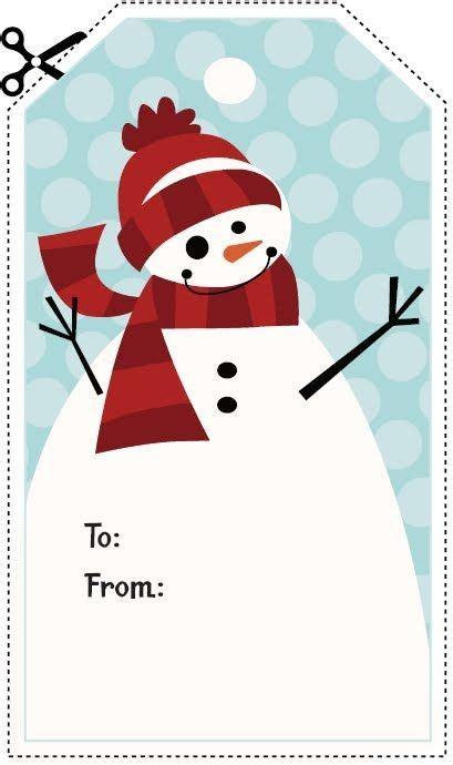 printable snowman tags pin by burlesonlady on christmas pinterest
