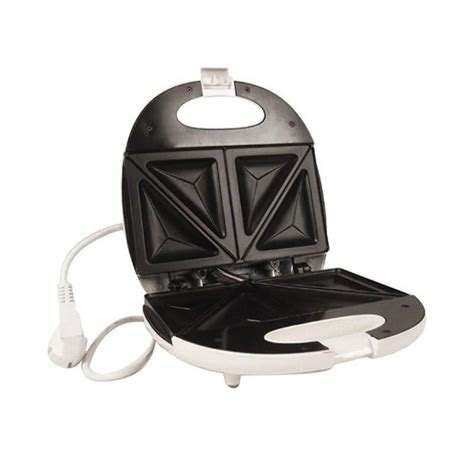 Pemanggang Roti Listrik Kecil jual oxone pemanggang roti listrik sandwich toaster ox 835 putih harga kualitas