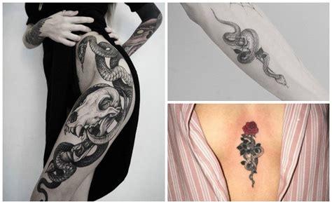 imagenes de víboras en tatuajes tatuajes de serpientes para hombres y mujeres 191 qu 233 significan