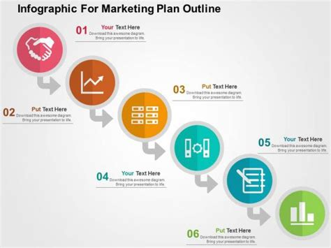 Market Presentation Template Infographic For Marketing Plan Outline Powerpoint Template 1 Marketing Strategy Template Ppt