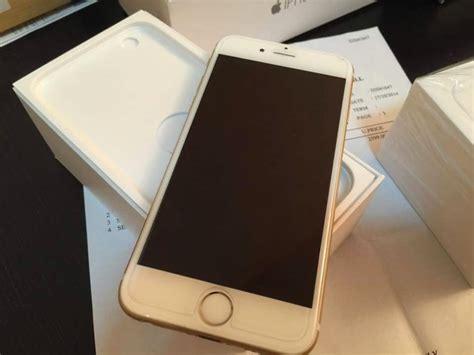 Iphone 6 16gb Gold Fullset Ori gold gadgets
