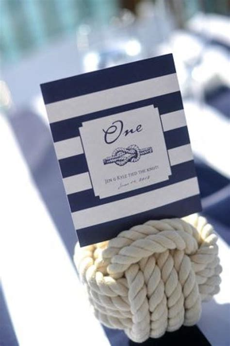 wedding card nautical idea table number 2047462