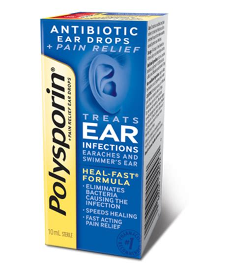 ear infection drops polysporin 174 relief ear drops polysporin 174 canada