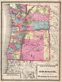 oregon and the territory of washington geographicus