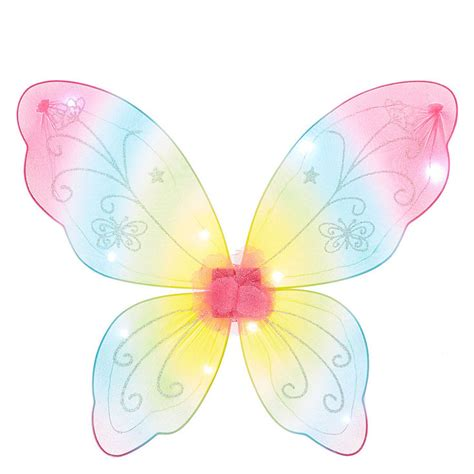 light up butterfly wings kids light up rainbow butterfly wings claire s