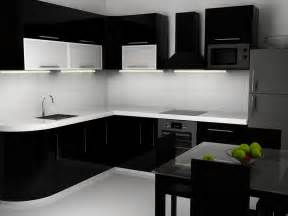 Kitchen With Black And White Cabinets Why Black Kitchen Cabinets Are Popular Midcityeast