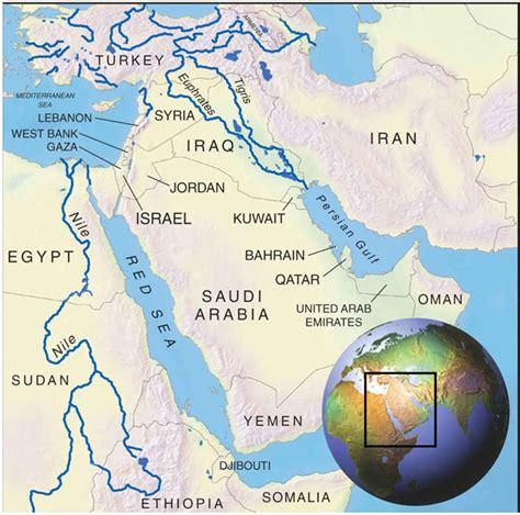 middle east map river waar moeten de verenigde staten hulp zoeken tegen de