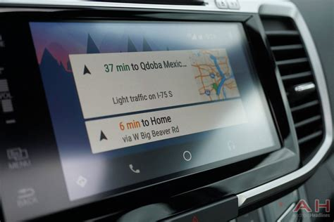 android auto v2 0 with waze integration android headlines technology