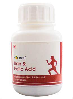 Fefol Iron Folate Supplement 30 Capsules Berkualitas nourish iron folic acid 30 capsules smartvalue