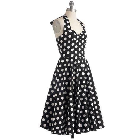 polka dot swing dress 1950s retro jive polka dot swing 1950s housewife pinup vintage