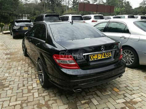 Mercedes C240 For Sale by Foreign Used Black 2009 Mercedes C240 Petrol Cheki