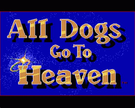 emuparadise losing roms all dogs go to heaven rom