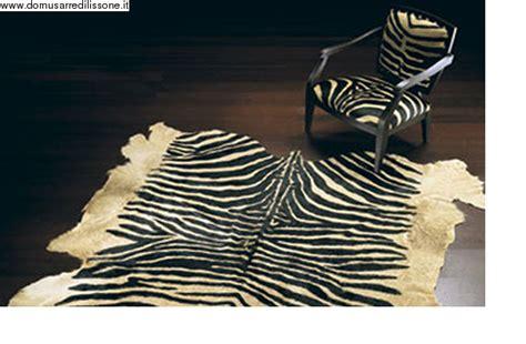 tappeto zebrato tappeto zebrato concia vero cavallino