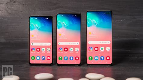 samsung galaxy s10e review rating pcmag