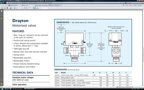 drayton zone valve actuator wiring diagram wiring diagram