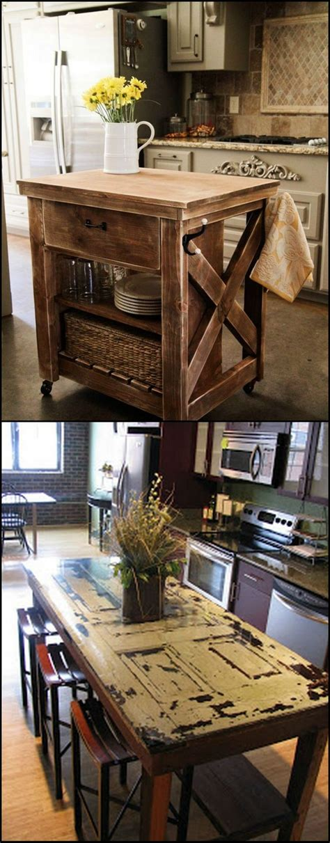 how to build your own kitchen island adding or getting a new kitchen island can be expensive unless you build or upgrade your