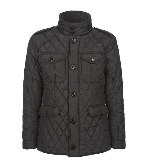 Hackett Quilted Jacket by Hackett Holborn Quilted Jacket In Gray For Lyst