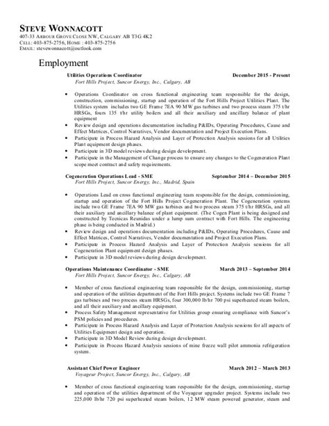 Steve Resume by Steve Wonnacott Resume