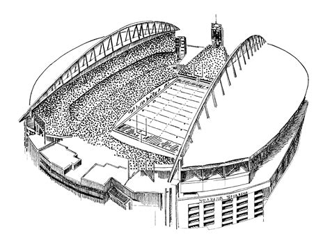 coloring pages stadium az coloring pages