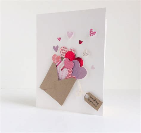 Easy Handmade Valentines - 25 easy diy s day cards
