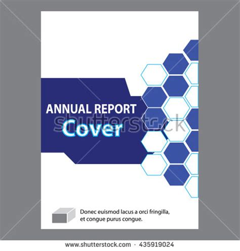 cover page for annual report template eport stock images royalty free images vectors