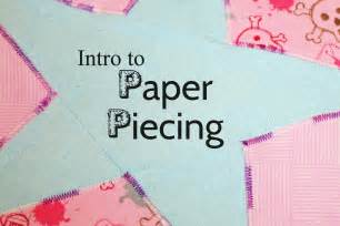 How To Make Paper Pieces - tutorial