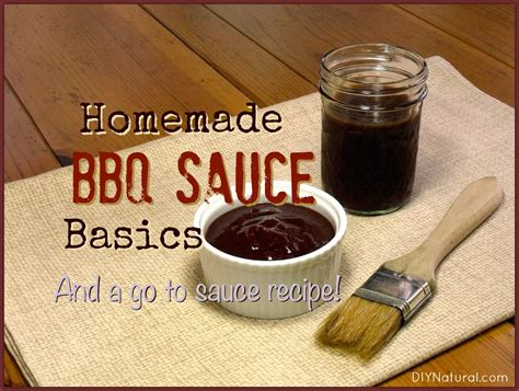 Handmade Bbq - bbq sauce all the basics and a great recipe