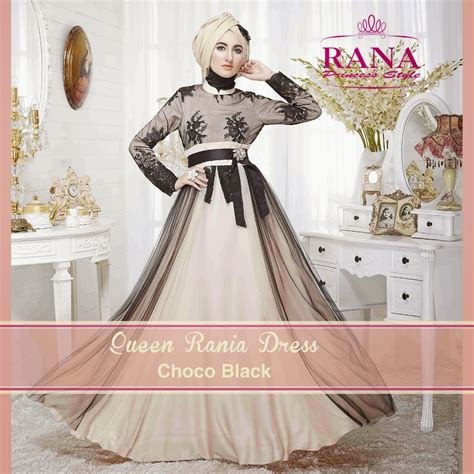 Baju Muslim Princess Tile rania and king rashid by rana princess style