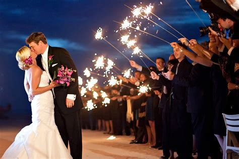 9 Ways To Use Sparklers At Your Wedding   Wedding