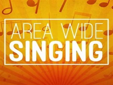 area wide singing whiteland church  christ
