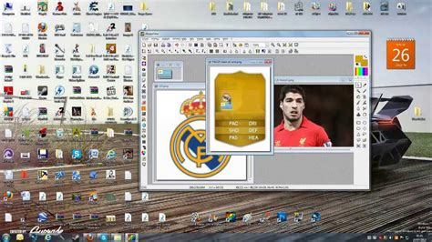 make a ultimate team card how to make awesome fifa 14 ultimate team cards suarez