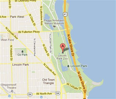 lincoln park chicago map optimus 5 search image lincoln park zoo map