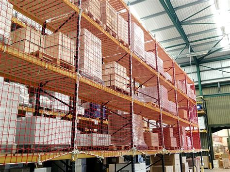 Pallet Rack Netting by Warehouse Safety Equipment Pallet Rack Safety Nets