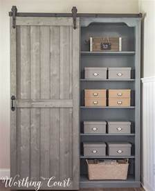 Sliding Bookcase Door Hardware Bookcase Makeover Traditional Cherry To Farmhouse Fab