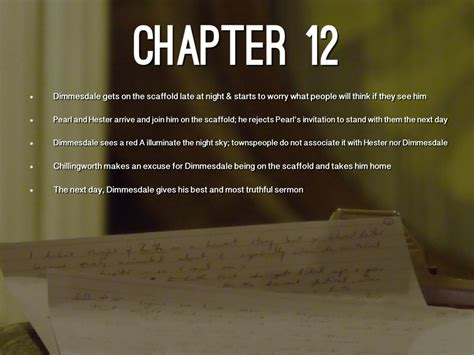 themes in chapter 10 of the scarlet letter scarlet letter chapter 4 summary scarlet letter chapter