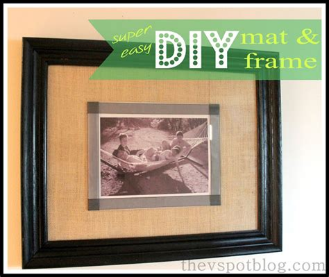 diy picture frame matting colors a quick and easy diy mat and frame project no tools you
