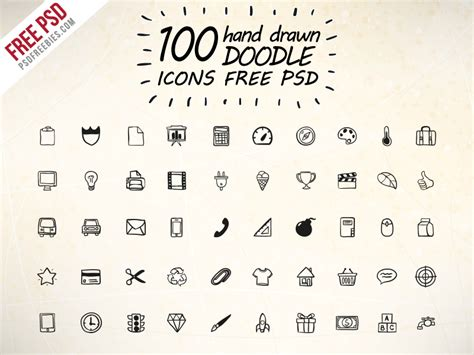 doodle icon free kitchen cooking outline iconset free psd psdfreebies