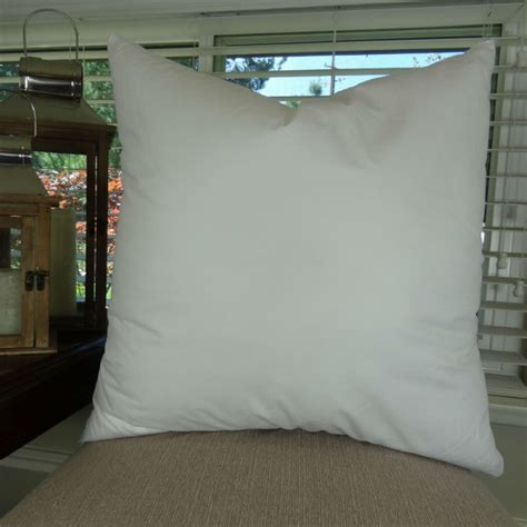 Pillow Insert 20 X 20 by 20x20 Pillow Insert Made In Usa Hypoallergenic