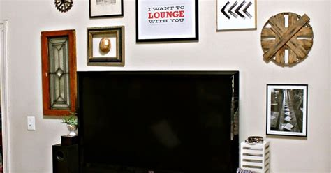 low cost eclectic style gallery wall hometalk